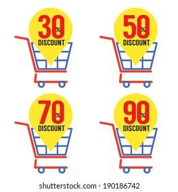 Set Of Shopping Basket Discount
