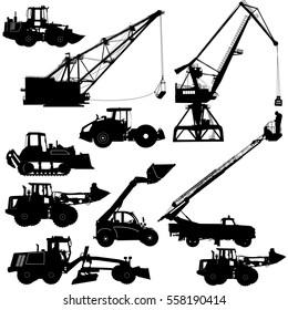 Telehandler Icon Stock Vectors, Images & Vector Art