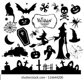 Halloween Silhouette Images, Stock Photos \u0026 Vectors