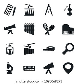 Set Simple Vector Isolated Icons Paint Stock Vector Royalty Free
