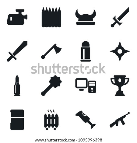 Set Simple Vector Isolated Icons Award Stock Vector (Royalty Free ... c183d62ed