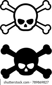 set of skull vector for your design or logo