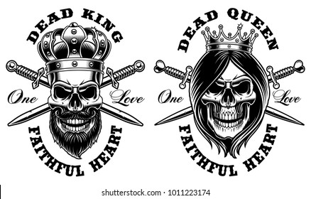 King And Queen Images Stock Photos Vectors Shutterstock