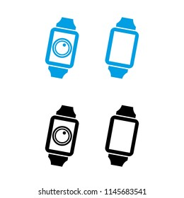 a set of smart watch icons
