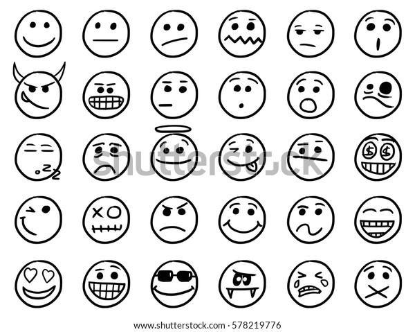 Smiley zum kopieren schwarz weiß