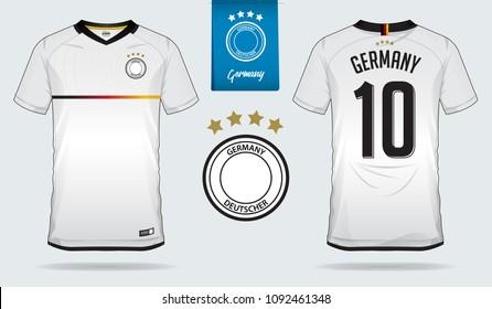new products eb0e8 70abc German Football Shirt Stock Vectors, Images & Vector Art ...