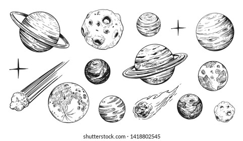 Space Drawing Images Stock Photos Vectors Shutterstock