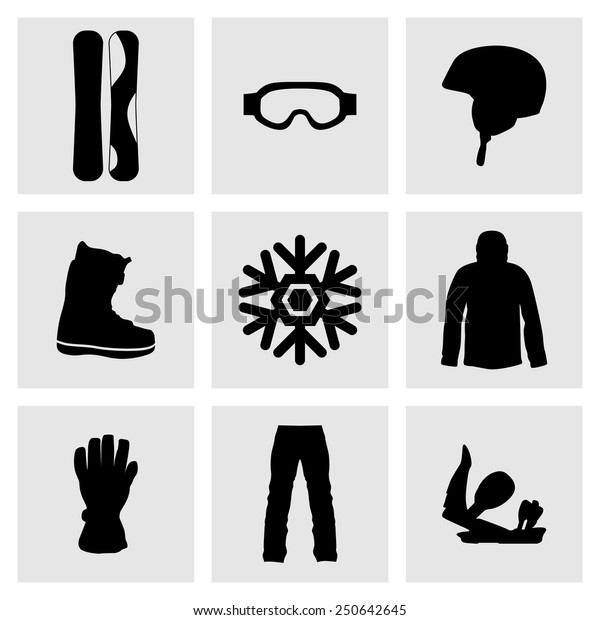 Set Sports Icons Active Sports Health Stock Vector (Royalty