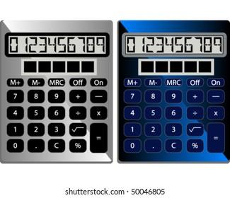 Set of Standard Calculators