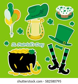 PATRICKS DAY ~ LUCKY CENT ~ MARCH 17 ~ LEPRECHAUN ~ POT OF GOLD PENNY ST C