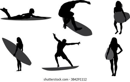 Surfing Silhouette Images Stock Photos Vectors Shutterstock