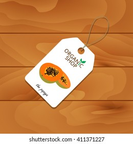 A set of tags. Discount price. A set of tags. Discount price. Organic food. Fruit. Vegetables.