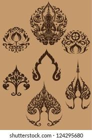 Set: Thai Art symbols