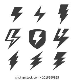 set of thunder logo