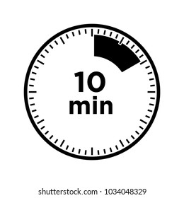 set a timer for 10 minutes