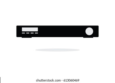 Set top box modern icon vector