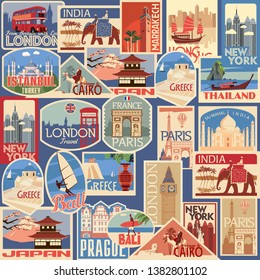 Travel Stickers Images, Stock Photos & Vectors | Shutterstock
