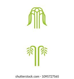 a set of tree icons