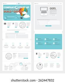 company portfolio template