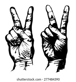 Peace Sign Hand Images, Stock Photos & Vectors | Shutterstock