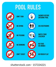 Swimming Pool Sign Vector Stock Vectors, Images & Vector Art ...