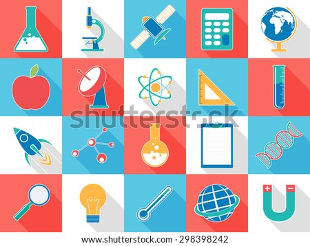Set Various Colorful Signs Symbols Based Stock Vector Royalty Free