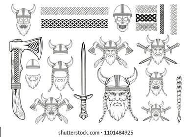 Viking Designs Images, Stock Photos & Vectors | Shutterstock