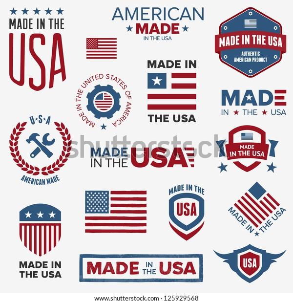Bílý štítek z USA