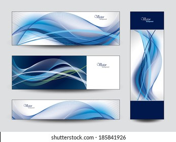 Set of Vector Banners. Eps10.