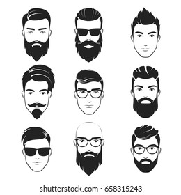 Handsome Man Haircut Stock Vectors, Images \u0026 Vector Art