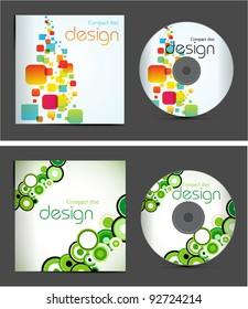 set vector cd cover design