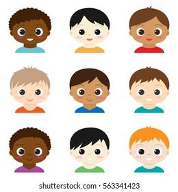 Ilustraciones Imágenes Y Vectores De Stock Sobre Niños Peleando