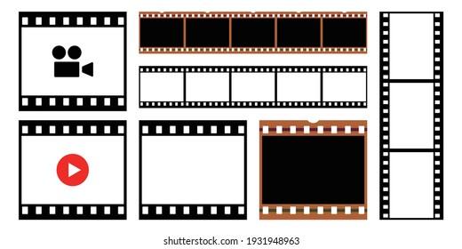Ensemble d'images vectorielles sur fond transparent.