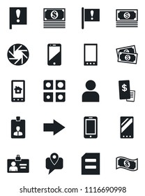 Set Vector Isolated Black Icon Right Stock Vector (Royalty
