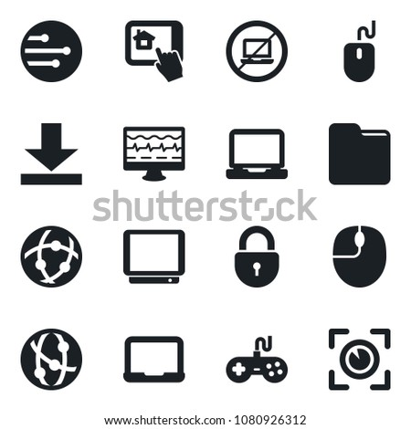 Set Vector Isolated Black Icon No Stock Vector (Royalty Free