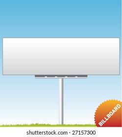 Set of vector outdoor advertising [Billboard]
