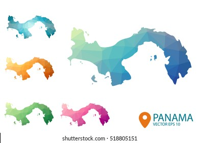 Panama Map Images, Stock Photos & Vectors | Shutterstock