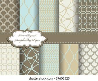 Digital Scrapbook Paper Images Stock Photos Vectors Shutterstock