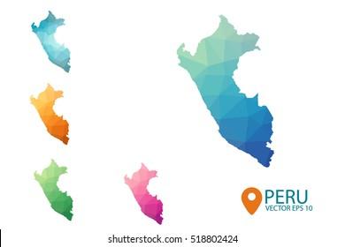 Peru Map Images Stock Photos Vectors Shutterstock