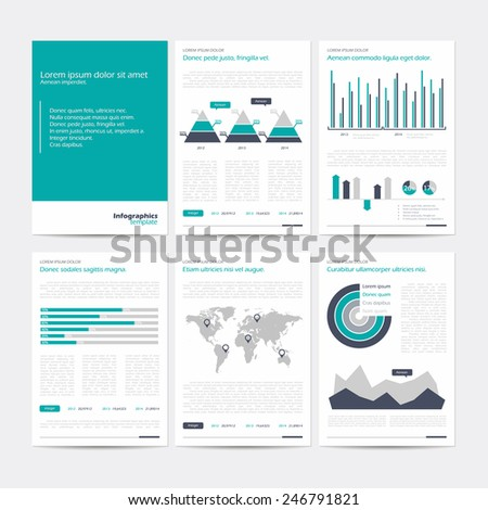 Set vector poster infographic templates abstract stock vector set of vector poster infographic templates abstract background for business documents flyers posters wajeb Image collections