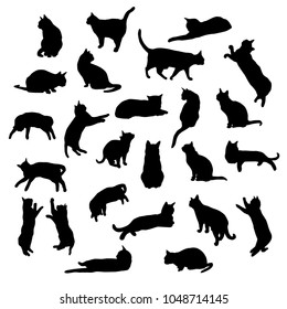 cat outlines images stock photos  vectors  shutterstock