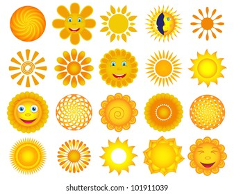 Set of vector suns