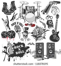 Imágenes Fotos De Stock Y Vectores Sobre Rock Roll Hand