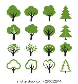 Набор векторного дерева