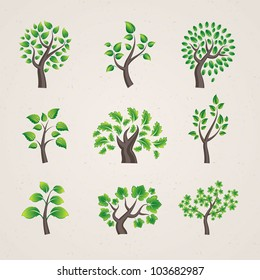 Set of vector trees