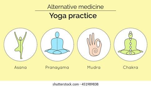Imágenes, fotos de stock y vectores sobre Healing Pranayama
