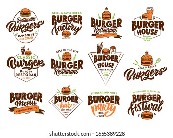 Beer Burger Logo Images Stock Photos Vectors Shutterstock