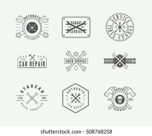 Auto Repair Logo Images, Stock Photos & Vectors | Shutterstock