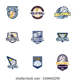 royalty free volleyball logo stock images photos vectors