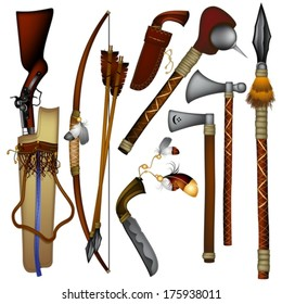Shawnee tribe tools and weapons